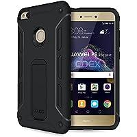doupi Ultra Kickstand Case Huawei P8 Lite ( 2017 ) con supporto integrato coperchio apribile protezione Copertina, nero