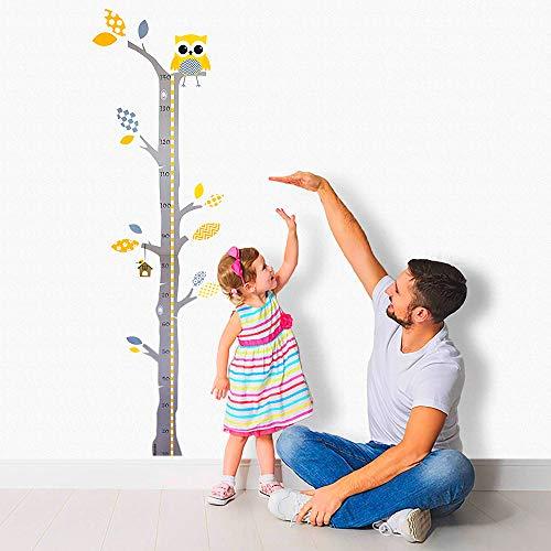 Brunoko Medidor altura pared niños - Vinilos medidores