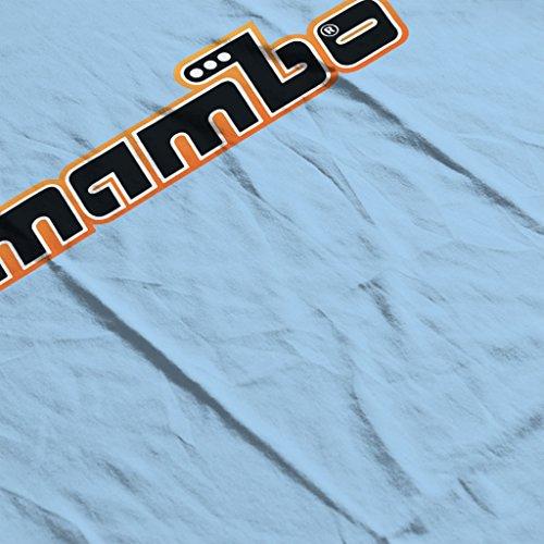 Mambo Retro Women's Hooded Sweatshirt Sky Blue