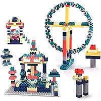 Toyshine Versatile Blocks Set with Over 100 Pcs, Educational Home Car, Train, Robot, Animal Building Blocks, Learning…