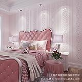 MDDW-3D geschnitzten Blümchen Vlies Tapeten Wohnzimmer Schlafzimmer Wand Haus Kinderzimmer Zimmer Tapete , light pink