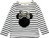 Disney Mädchen T-Shirt * One Size Gr. 8 Jahre, Gebrochenes weiß