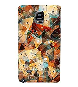 CHAPLOOS Designer Back Cover For Samsung Galaxy note 4