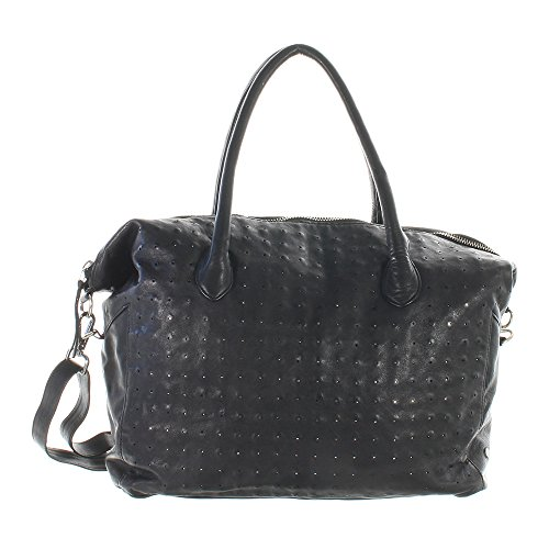 Another Bag , Sac à main pour femme noir Schwarz