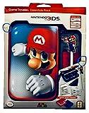 Official Essential Mario Pack - Set de accesorios oficial para Nintendo New 3DS XL / 3DS X, con funda para la 3DS y juegos, 4 diseños a elegir Mario Conjunto