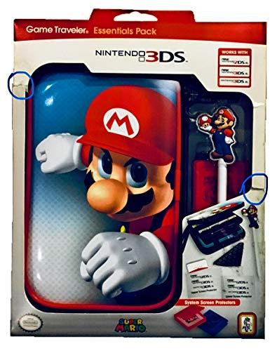 "Offizielles Nintendo New 3DS XL / 3DS XL - Zubehör-Set ""Official Essential Mario Pack"" , Motiv: Mario"