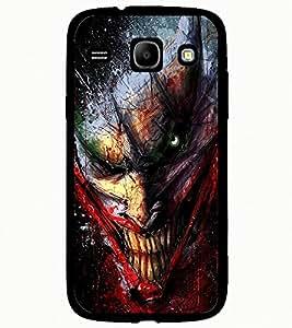 ColourCraft Scary Clown Design Back Case Cover for SAMSUNG GALAXY CORE I8262 / I8260