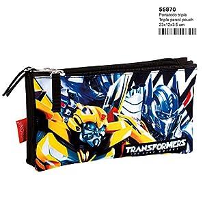 Montichelvo Transformers Accepted – Estuche portatodo Triple (Perona 55870)