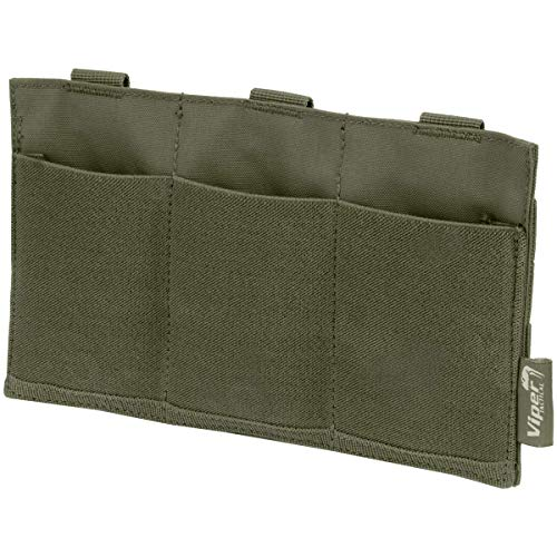 Viper Airsoft Low Profile Triple Magazine Plate Pouch Carrier Softair Low Profile 5-panel -