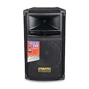Enceinte PA DJ-Tech Vegas 10 25cm 600W