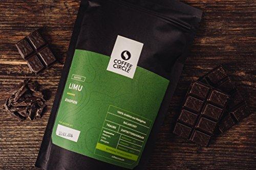 Coffee Circle   Premium Kaffee Limu   350g ganze Bohne   Blumiger Filterkaffee aus äthiopischen Waldgärten   100% Arabica   fair & direkt gehandelt   frisch & schonend geröstet - 2