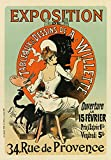 """AP28 Vintage French Art Exhibition A. Willette France Advertising Poster Re-Print - A4 (297 x 210mm) 11.7"""" x 8.3"""" - Affiche Prints - amazon.co.uk"""