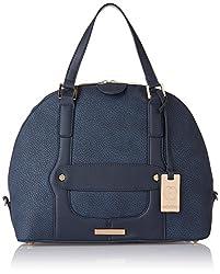 Stella Ricci Womens Shoulder Bag (Navy Blue) (SR216HNBLU)