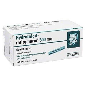 Hydrotalcit-ratiopharm 500mg 100 stk