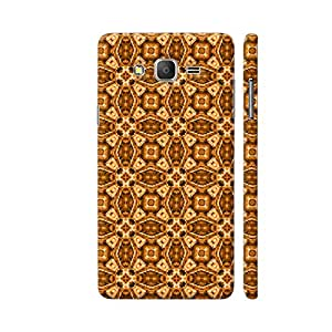 Colorpur Samsung On7 Pro Cover - Decorative Patterns Printed Back Case