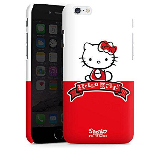 Apple iPhone X Silikon Hülle Case Schutzhülle Hello Kitty Merchandise Zubehör Cute Premium Case matt