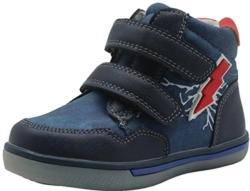 Shengjuanfeng Kleinkind Jungen Schuhe Stiefel High Top Sneakers (Color : Blue, Size : 9.5 M US Toddler) 9,5 M Schuhe