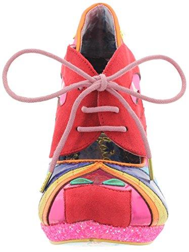 Irregular Choice Scarpe Col Tacco Donna Pink-Red-Yellow