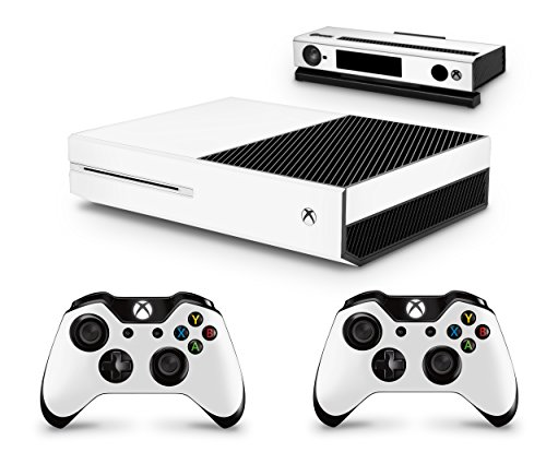 Price comparison product image GNG Xbox One White LOOK Console Skin Decal Sticker + 2 Xbox One Controller Skins & Kinect