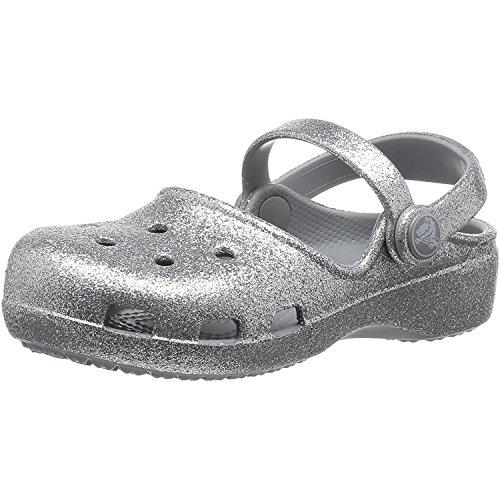 Crocs Karin Sparkle Clog Kids, Zuecos para Niñas