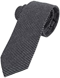 Massi Morino Kunstseide Einstecktuch f/ür Herren I Wei/ßes Taschentuch mit grauem Saum