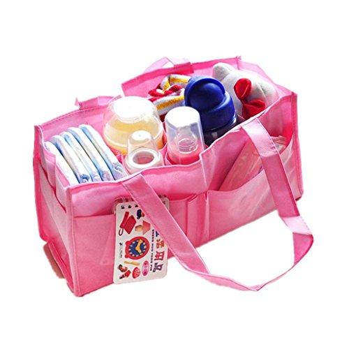 Cornasee tragbar Baby Windel Aufbewahrungstasche Umweltfreundliche Faserstoff Reinigungstuch Organizer Tasche Tragetasche für Reisen und den täglichen Gebrauch