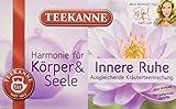 Teekanne Innere Ruhe Kräuterteemischung 20 Beutel, 2er Pack (2 x 40 g Packung)