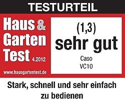 Testberichte zu Caso VC 10