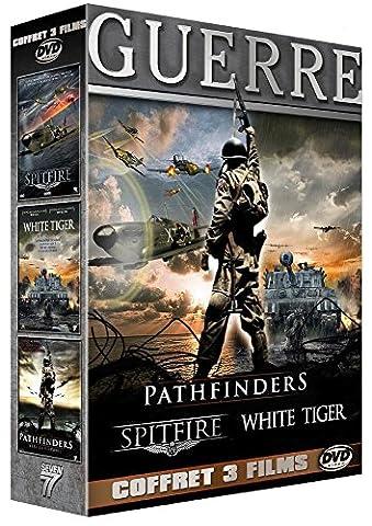 Guerre - Coffret 3 films : Pathfinders - Vers la victoire + Spitfire + White Tiger