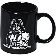 Taza Star Wars para Desayuno Café o Té Regalo para Día del Padre Cumpleaños Parodia Who's Your Daddy? Parody Coffee Mug Tea Mug Gift Father's Day Birthday