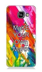 Samsung Galaxy A3(2016) 3Dimensional High Quality Designer Back Cover by 7C