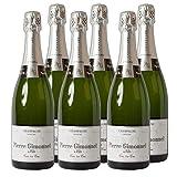 Champagne Cuis 1er Cru - Demi Sec Champagner halbtrocken (6x 0.75 l)