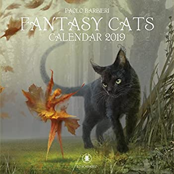 Fantasy Cats. Calendar 2019 [Lingua Inglese]