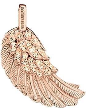 Engelsrufer Anhänger Flügel rosévergoldet mit Zirkonia