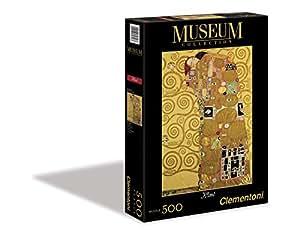 Clementoni - 30316 - Puzzle Classique - L'Abbraccio - Fulfilment (Stoclet Frieze), Gustav Klimt