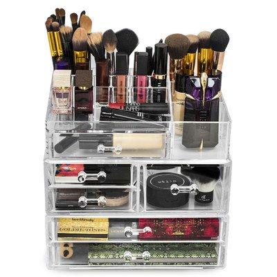 Acrylic Cosmetics, Makeup and Jewellery Storage Case