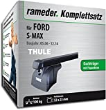 Rameder Komplettsatz, Dachträger SquareBar für FORD S-MAX (116147-05542-1)