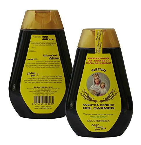 Honey Sugar Cane Syrup Mélasse Nuestra Señora de Carmen 350 grammes