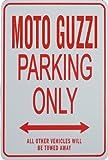 MOTO GUZZI PSolo parcheggio - parcheggio segni in miniatura regalo ideale per gli appassionati di automobilismo