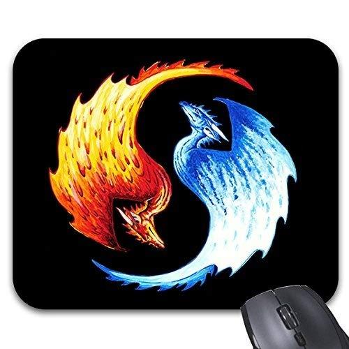 Yang Kostüm Yin Machen - Yanteng Anstarren Mousepads Yin Yang Drachen Mousepad