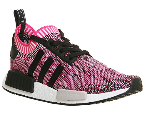 adidas NMD R1 W PK 363, Baskets Mixte Adulte Multicolour (Shock Pink/Core Black/Running White Ftw Bb2363)