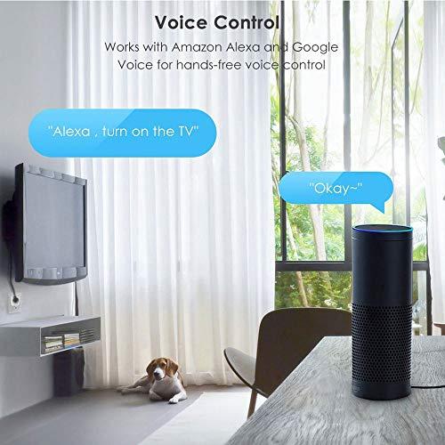 WMIAO WiFi Smart Plug Environnement, Mobile APP Remote Control Timing/Télécommande Prise De Commutateur Alexa Voice Control Goole Assistabt,... 7