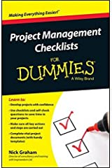 Project Management Checklists For Dummies by Nick Graham (2014-11-24) Unknown Binding
