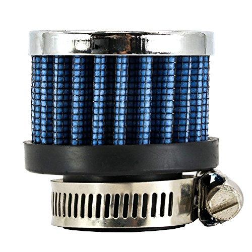 smartspec rund konisch Mini-Auto-Kalte Luft Aufnahme 25mm Auto Air Filter (0.1 Ps Motor)