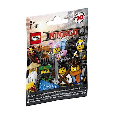 Lego Minifigures – 71019 – Lego Ninjago, le Film – 1 Sachet Mystère 1 Mini Figurine – Modèle
