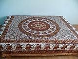 Marrakech Accessoires Orientalische Tagesdecke Bettüberwurf Sofaüberwurf Überwurf Plaid Indien