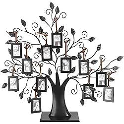 Photos de famille à la mode en arborescence avec arbre à suspendre(L)