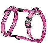 Kruuse Rogz Armed Response Hundegeschirr aus Nylon (X-Large) (Pink Bone)