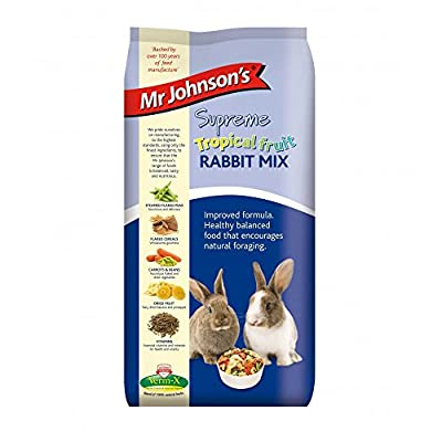 Mr Johnson's Supreme Tropical Fruit Rabbit Food Mix by Mr Johnson's
