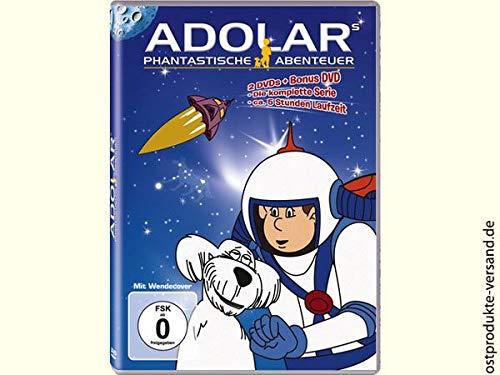 Ostprodukte-Versand.de DVD Adolars phantastische Abenteuer 2 DVDs | DDR Traditionsprodukt | DDR Waren (Abenteuer Rock)